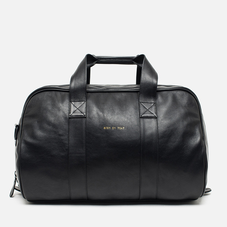 Common Projects Duffle Leather Bag Black