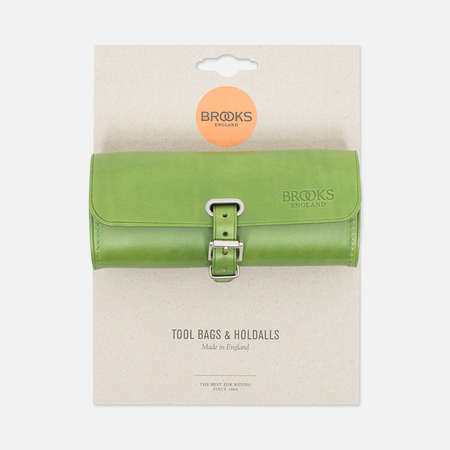Brooks England Challenge Tool Bag Apple Green