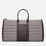 Дорожная сумка Aquascutum Holdall Club Check Brown фото- 0