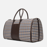 Дорожная сумка Aquascutum Holdall Club Check Brown фото- 1