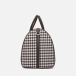 Дорожная сумка Aquascutum Holdall Club Check Brown фото- 2