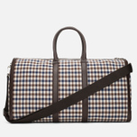 Дорожная сумка Aquascutum Holdall Club Check Brown фото- 3