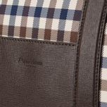 Дорожная сумка Aquascutum Holdall Club Check Brown фото- 4