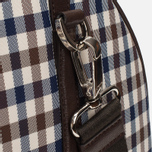 Дорожная сумка Aquascutum Holdall Club Check Brown фото- 7
