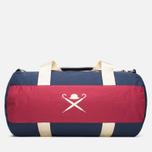 Дорожная сумка Hackett Panel Duffle Navy/Red фото- 0