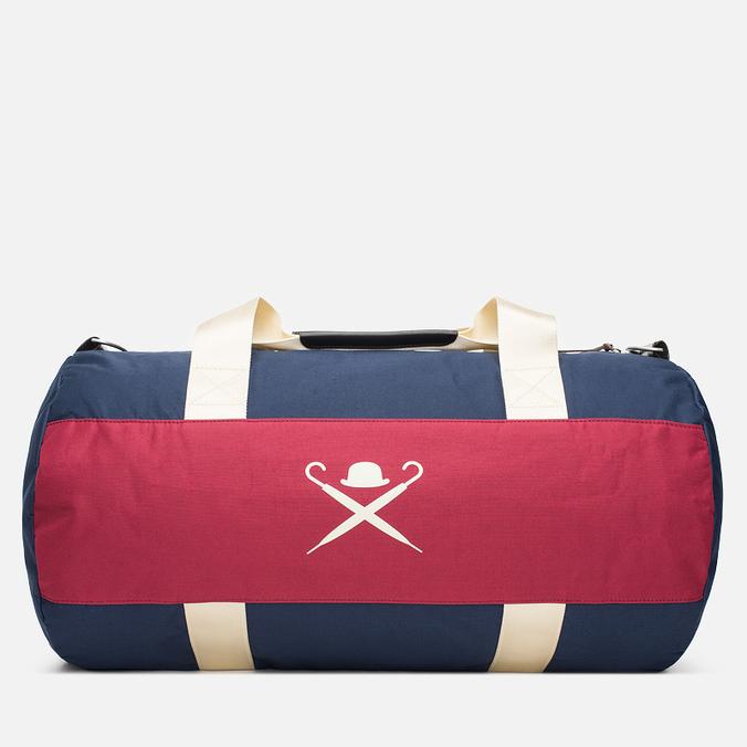 Дорожная сумка Hackett Panel Duffle Navy/Red