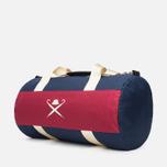 Дорожная сумка Hackett Panel Duffle Navy/Red фото- 1