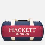 Дорожная сумка Hackett Panel Duffle Navy/Red фото- 3