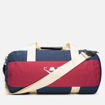 Дорожная сумка Hackett Panel Duffle Navy/Red фото- 4
