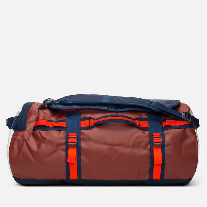 The North Face Base Camp Duffel Travel Bag Red/Black