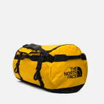 Дорожная сумка The North Face Base Camp Duffel 95L Yellow/Black фото- 1