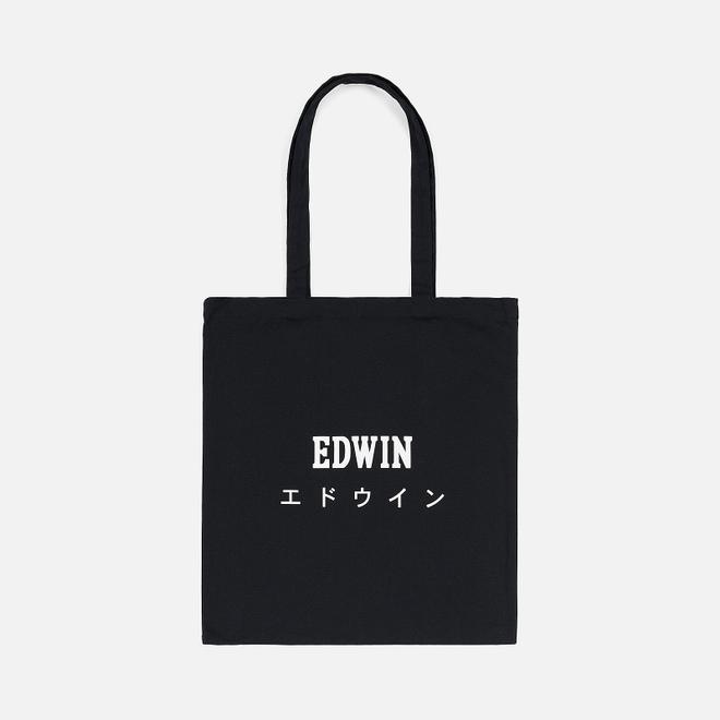 Сумка Edwin Logo Tote Black