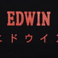 Сумка Edwin Logo Tote Oversized Hazy Dreams Black фото- 1