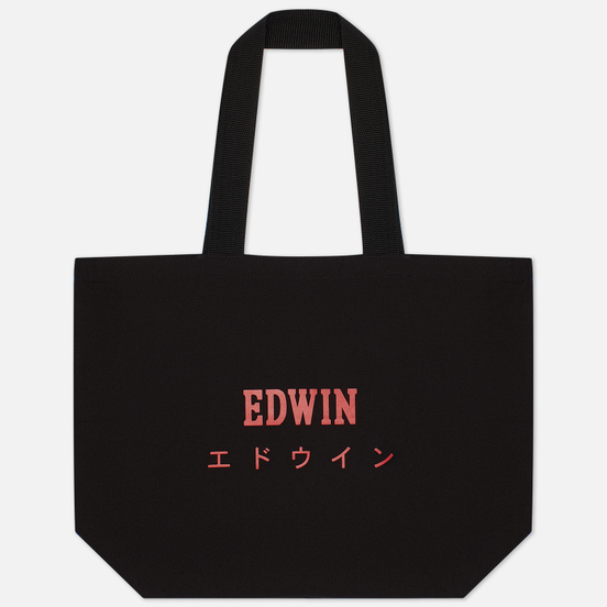 Сумка Edwin Tote Shopper Black/Red