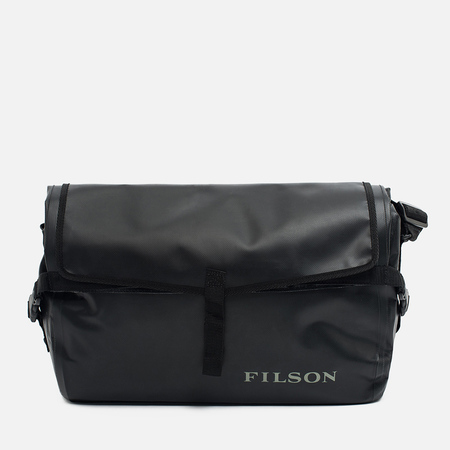 Filson Dry Messenger Bag Black
