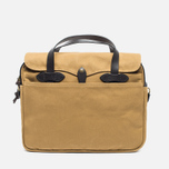 Filson Original Briefcase Bag Dark Tan photo- 0