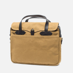 Filson Original Briefcase Bag Dark Tan photo- 1