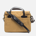 Filson Original Briefcase Bag Dark Tan photo- 3