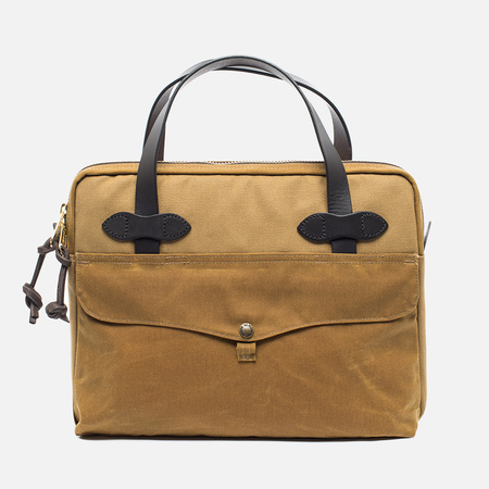 Filson Tablet Briefcase Bag Tan