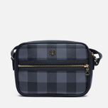 Женская сумка Fred Perry Gingham Shoulder Grey/Black фото- 0