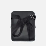 Lacoste Gael Large Flat Crossover Bag Black photo- 2