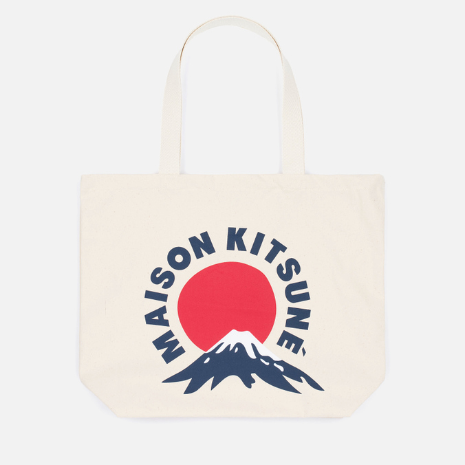 Сумка Maison Kitsune Mont Fuji Ecru/Navy