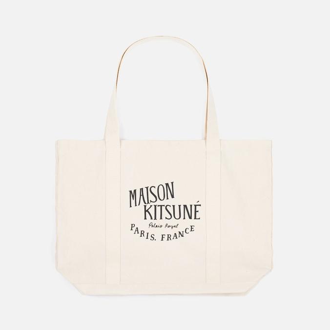Сумка Maison Kitsune Palais Royal Ecru/Black