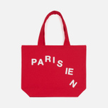 Сумка Maison Kitsune Parisien Cut Red фото- 0