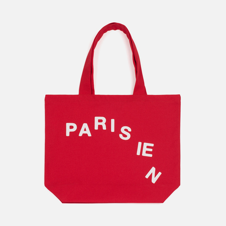 Сумка Maison Kitsune Parisien Cut Red