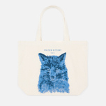 Сумка Maison Kitsune Tote Fox Brush фото- 0
