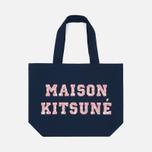 Сумка Maison Kitsune Tote Pixel Navy фото- 0