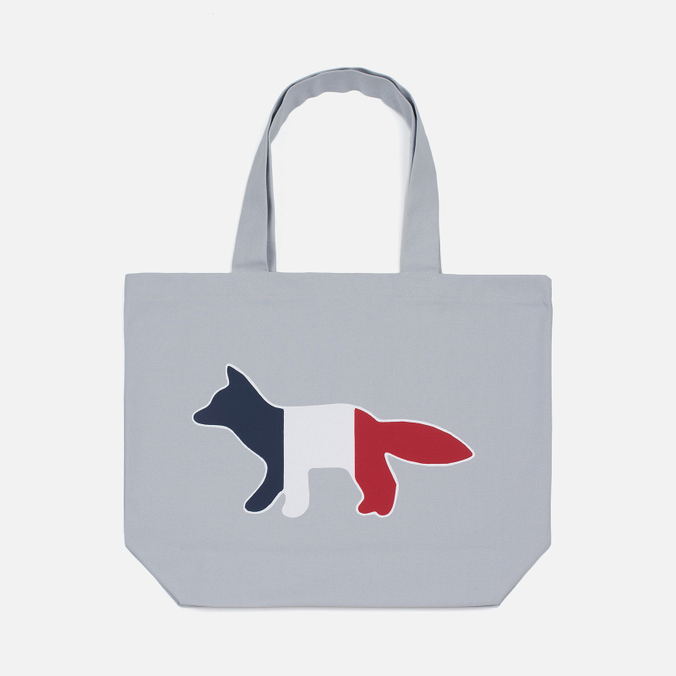 Сумка Maison Kitsune Tricolor Fox Light Grey