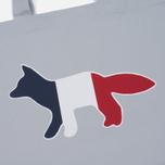 Сумка Maison Kitsune Tricolor Fox Light Grey фото- 1