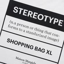 Сумка Maison Margiela 11 Logo Shopping Tote White фото- 1