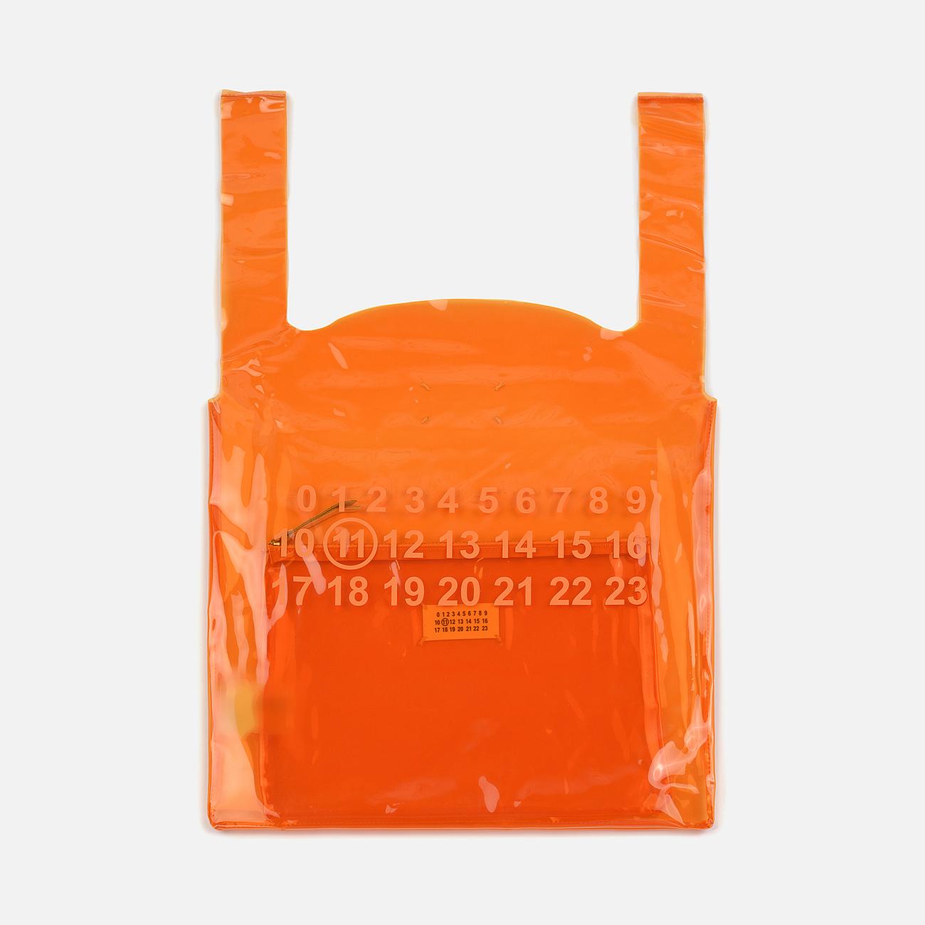 Сумка Maison Margiela 11 Logo Tote Russet Orange