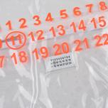 Сумка Maison Margiela 11 Shopping Trasparent/Orange Fluo фото- 1