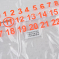 Сумка Maison Margiela 11 Shopping Trasparent/Orange Fluo фото - 1