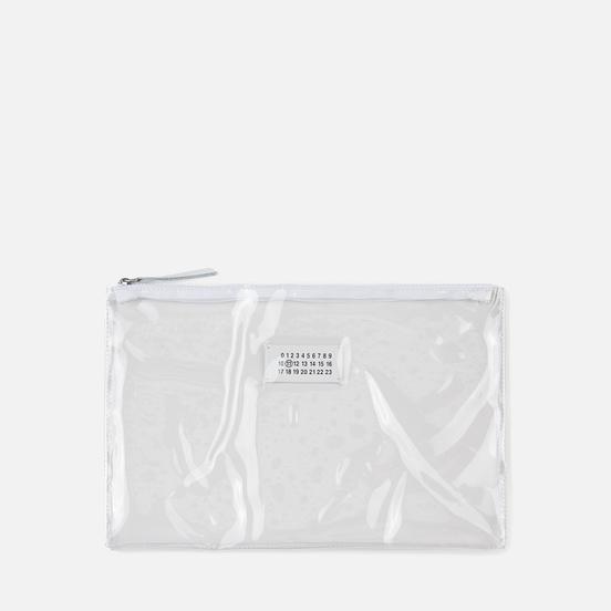 Сумка Maison Margiela 11 Shopping Trasparent/Orange Fluo