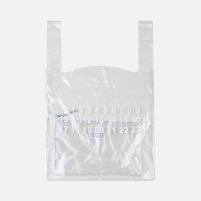 Сумка Maison Margiela 11 Shopping Trasparent/White