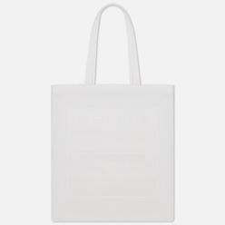 Сумка Maison Margiela 11 Stereotype Logo Printed Canvas White/White