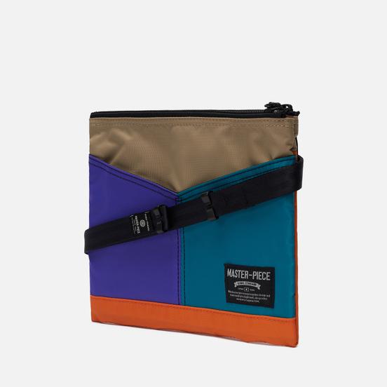 Сумка Master-piece Rush Purple/Turquoise