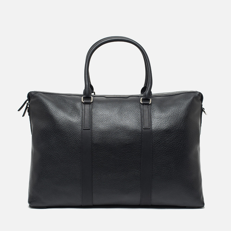 Сумка Mismo Mission Wrinkle Leather Black/Black