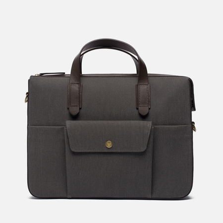 Сумка Mismo MS Briefcase Great Grey/Dark Brown