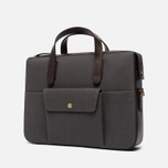 Сумка Mismo MS Briefcase Great Grey/Dark Brown фото- 1