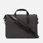 Сумка Mismo MS Briefcase Great Grey/Dark Brown фото- 3