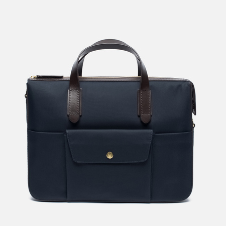 Сумка Mismo MS Briefcase Navy/Dark Brown