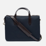 Сумка Mismo MS Briefcase Navy/Dark Brown фото- 3
