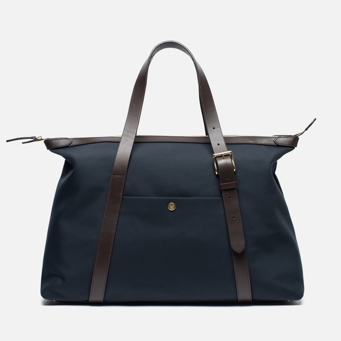 Mismo MS Holdall Bag Navy/Dark Brown