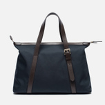 Mismo MS Holdall Bag Navy/Dark Brown photo- 3
