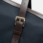 Mismo MS Holdall Bag Navy/Dark Brown photo- 4